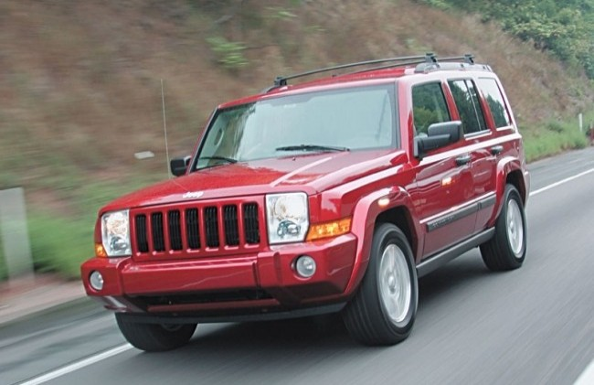 Jeep Commander (XK), 2005 год
