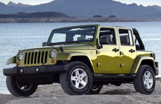 Jeep Wrangler Unlimited (JK), 2007 год