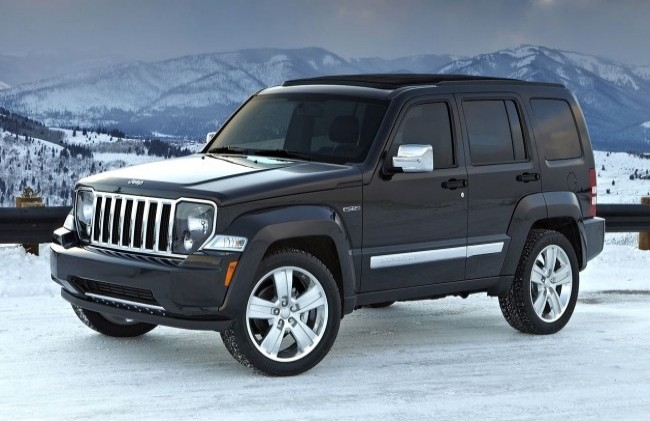 Jeep Cherokee/Liberty (КК), 2008 год