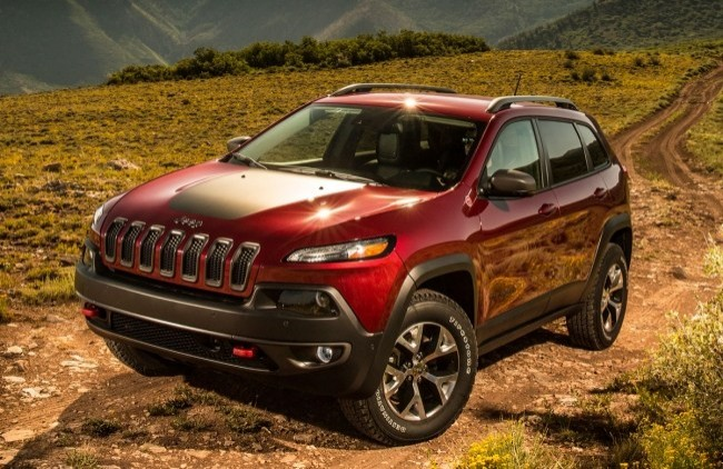 Jeep Cherokee Trailhawk, 2014 год