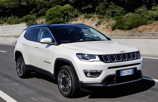 Jeep Compass Trailhawk, 2017 год