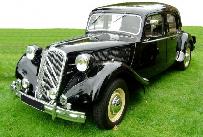 Citroen 7A Traction Avant, 1935 года
