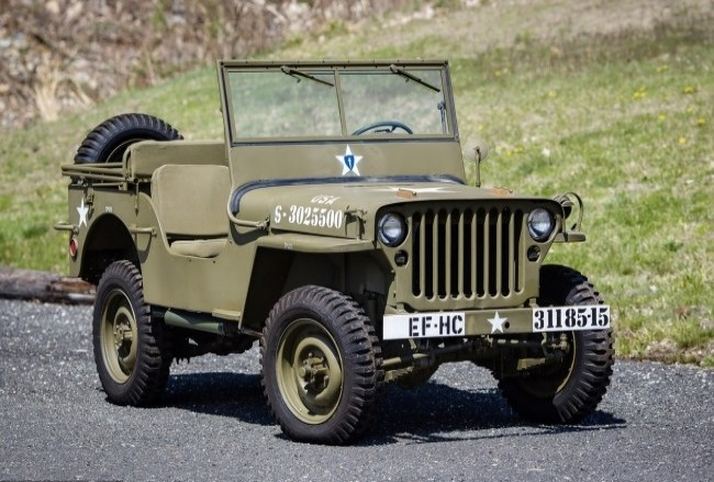 Willys MB, 1943 года