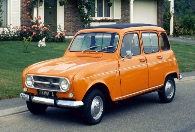 Renault 4, 1965 года