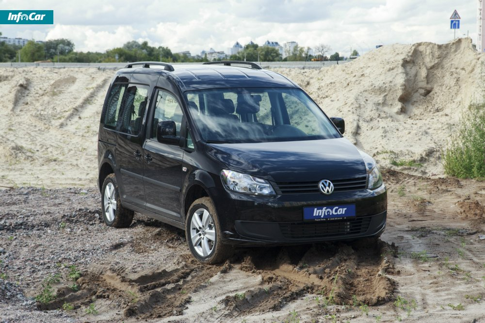Тест-драйв Volkswagen Caddy Kombi  Caddy 4Motion - внедорожный ... e0fa1fb6a26be