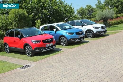 Opel Crossland X. Мал мала меньше. Opel Crossland X
