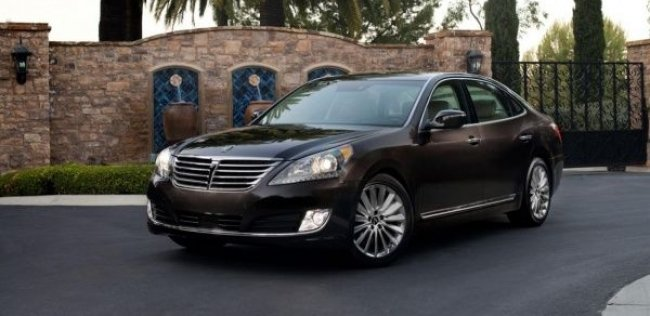Hyundai обновил седан Equus