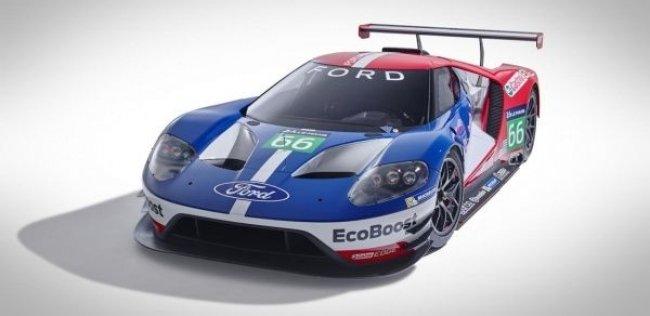 Ford представил новый гоночный болид GT