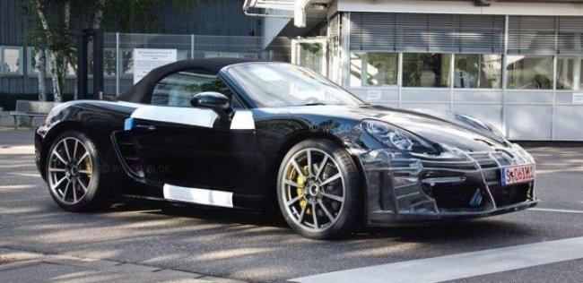 Porsche представит обновленный Boxster в начале 2016 года