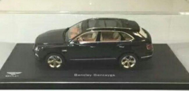 Китайцы показали Bentley Bentayga в масштабе