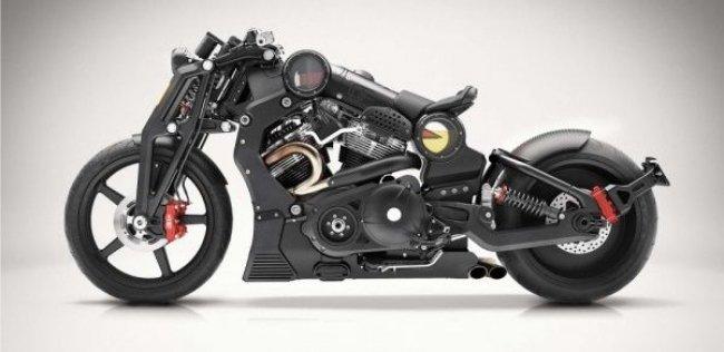 Новый мотоцикл Confederate G2 P51 Combat Fighter