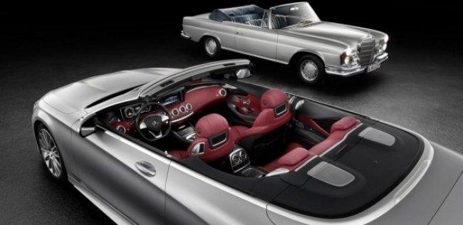 Mercedes рассекретил дизайн четырехместного кабриолета S-Class
