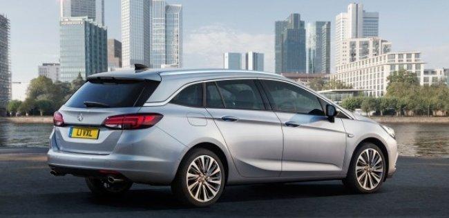 Багажнику универсала Opel Astra добавили 80 литров