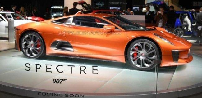 Jaguar и Land Rover показали автомобили из фильма «007: СПЕКТР»