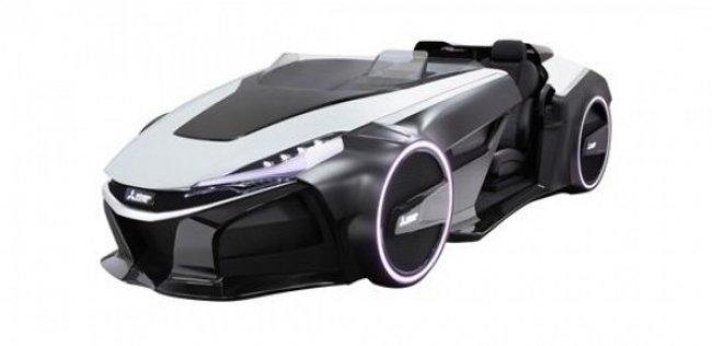 Mitsubishi показал концепт-кар EMIRAI 3 xDAS