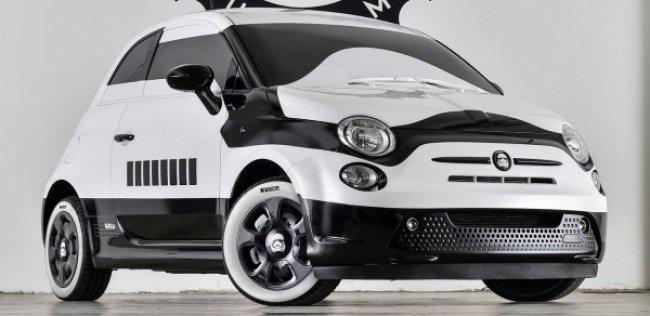 Fiat 500 превратили в «имперского штурмовика»