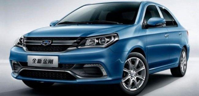 Китайская Geely обновила свой самый дешевый седан