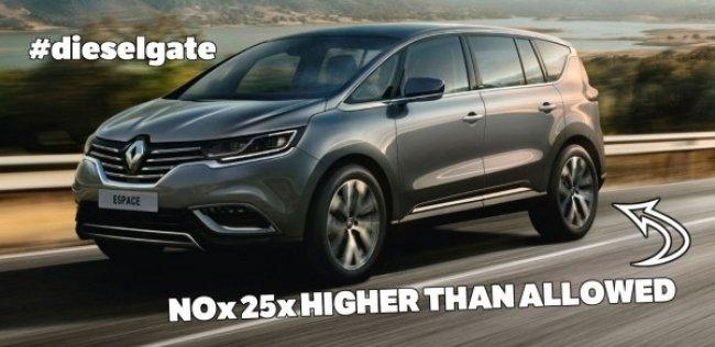 Вслед за VW в махинациях с выбросами обвинили Renault – акции упали на 20%