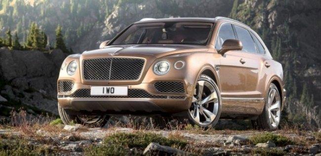 Купе Bentley Bentayga ожидается через 3 года