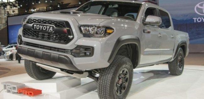 «Тойота» показала самый внедорожный пикап Tacoma