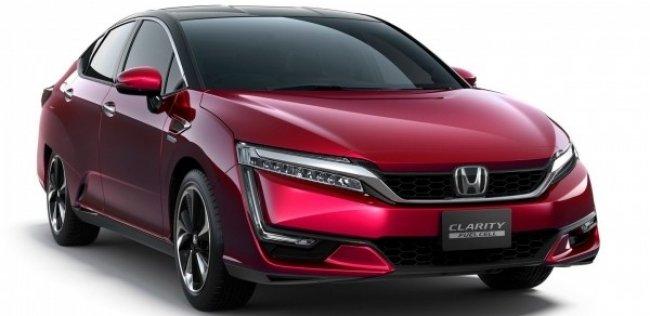 В Японии начались продажи нового водородного автомобиля Honda