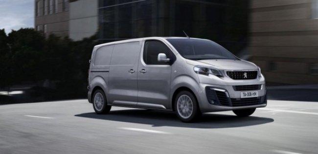 Peugeot представляет новый фургон Expert