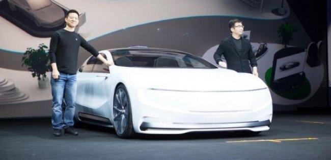 Китайская компания показала конкурента Tesla Model S