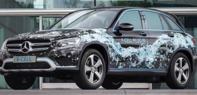 Mercedes-Benz создал водородный кроссовер