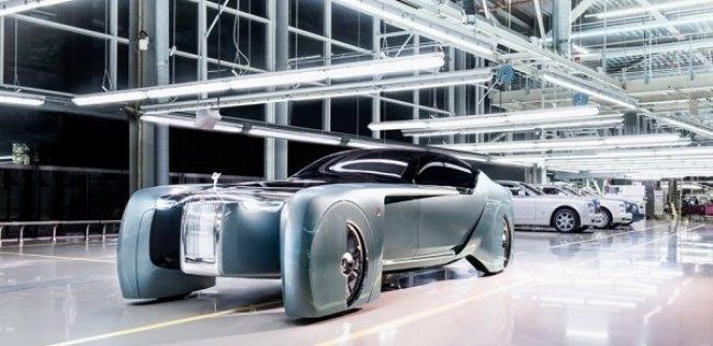 Rolls-Royce представил роскошный автономный электрокар