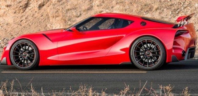 Новая Toyota Supra станет гибридом