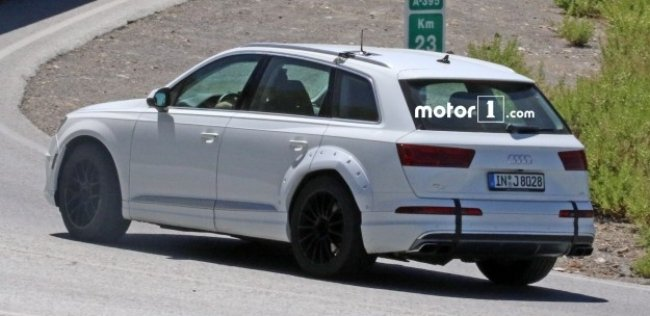 Суперлюксовый Audi Q8 замечен во время тестов
