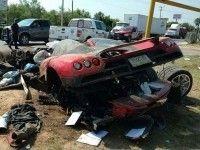 """В полный хлам: в Мескике """"развалили"""" гиперкар Koenigsegg CCX"""