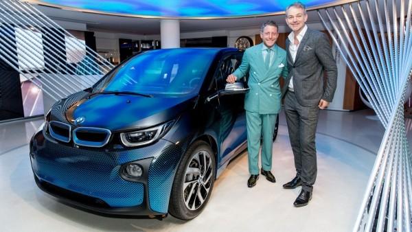 Бывший топ-менеджер Fiat придумал раскраску для i-моделей ...