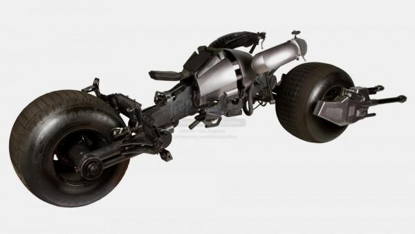 Мотоцикл Бэтмена из «Темного рыцаря» продали за 260 тысяч фунтов