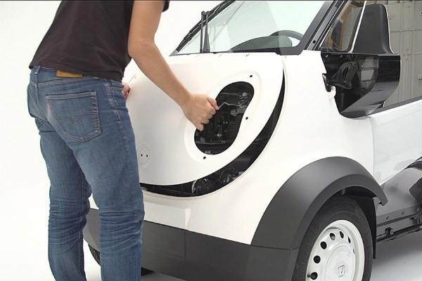 «Хонда» впервые напечатала автомобиль на 3D-принтере