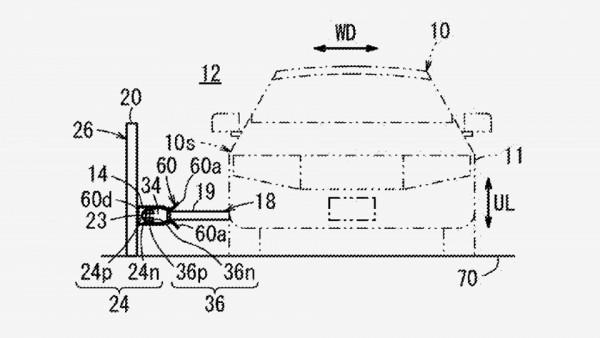 Компания Honda запатентовала контактный рельс для электрокаров