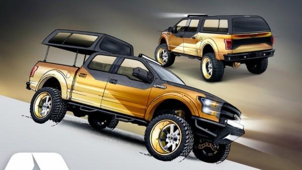 Ford привезет на тюнинг-шоу SEMA четыре особых F-150