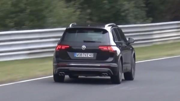 Volkswagen вывел на Нюрбургринг «заряженный» Tiguan