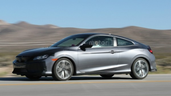 Стала известна дата дебюта «подогретого» купе Civic