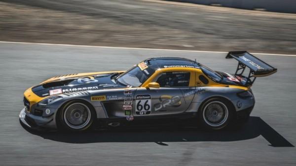 Американская гоночная команда сделала 745-сильный Mercedes-AMG GT
