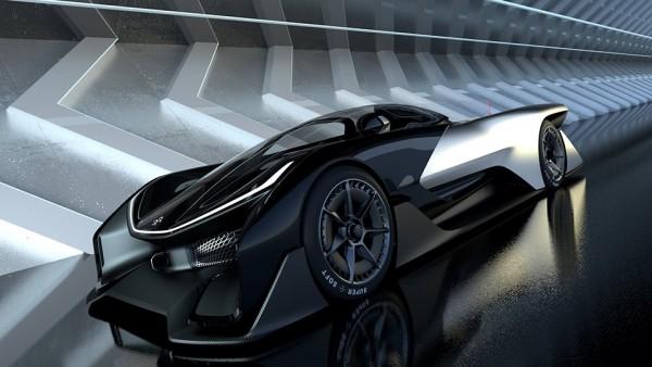 Серийную модель Faraday Future привезут на выставку электроники