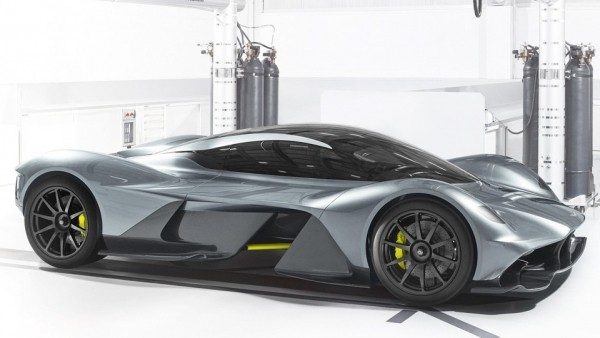 Гиперкар Aston Martin и Red Bull наберет 320 километров в час за 10 секунд