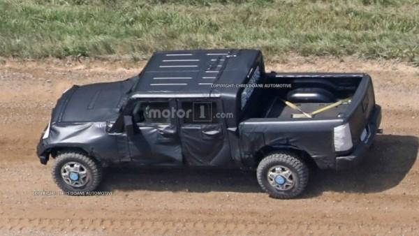 В Сети показали один из вариантов нового Jeep Wrangler
