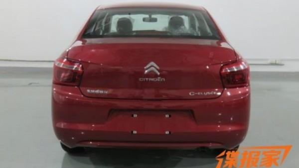 Шпионы сфотографировали обновленные Citroen C-Elysee и Peugeot 301