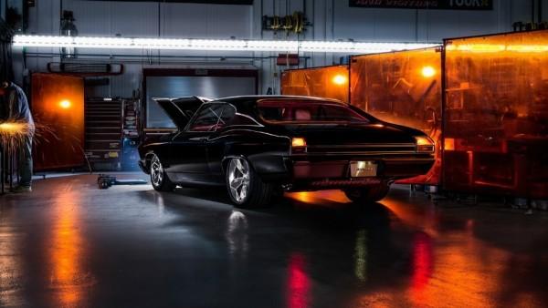 Chevrolet Chevelle 1969 года оснастили мотором от нового «Корвета»