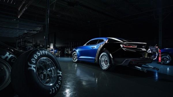 Первый экземпляр нового Camaro для дрэга пустят с молотка