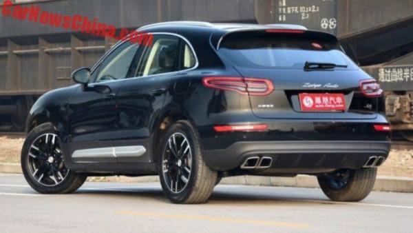Китайский клон Porsche Macan оценили в 16 тысяч долларов