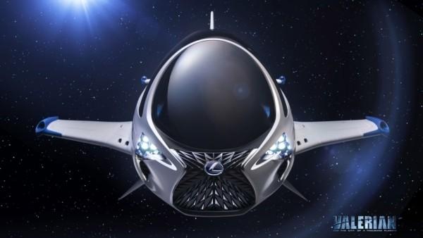 В Lexus разработали космический корабль