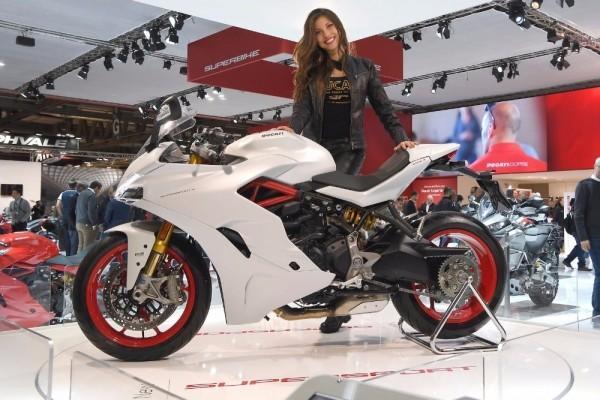Ducati SuperSport – самый красивый мотоцикл EICMA 2016