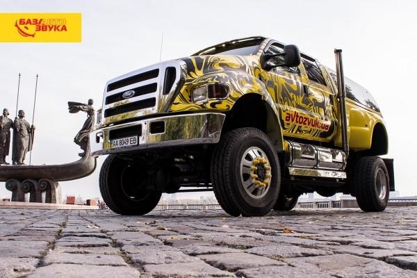 Ford F-650 – эксклюзивный шоу-кар компании «База Автозвука»